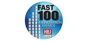 Fast 100 & Innovation Awards logo