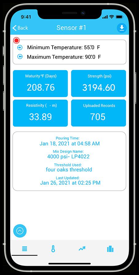 Image of Sensytec app
